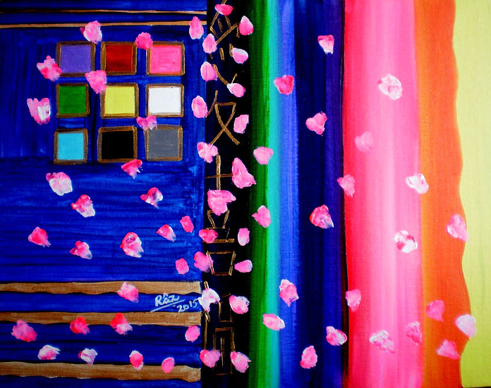 Feng Shui Window of Happiness! Chinese Feng Shui Colours of Life