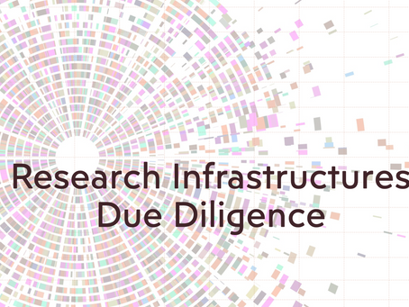 Research Infrastructures Due Diligence