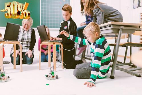 Международная школа робототехники, программирования и 3D-печати «РОББО Клуб».