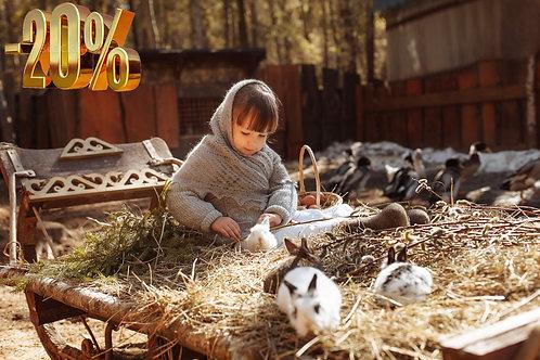 Контактный зоопарк Зубрёнок