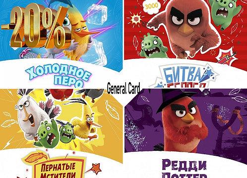 День рождения в Angry Birds Activity Park