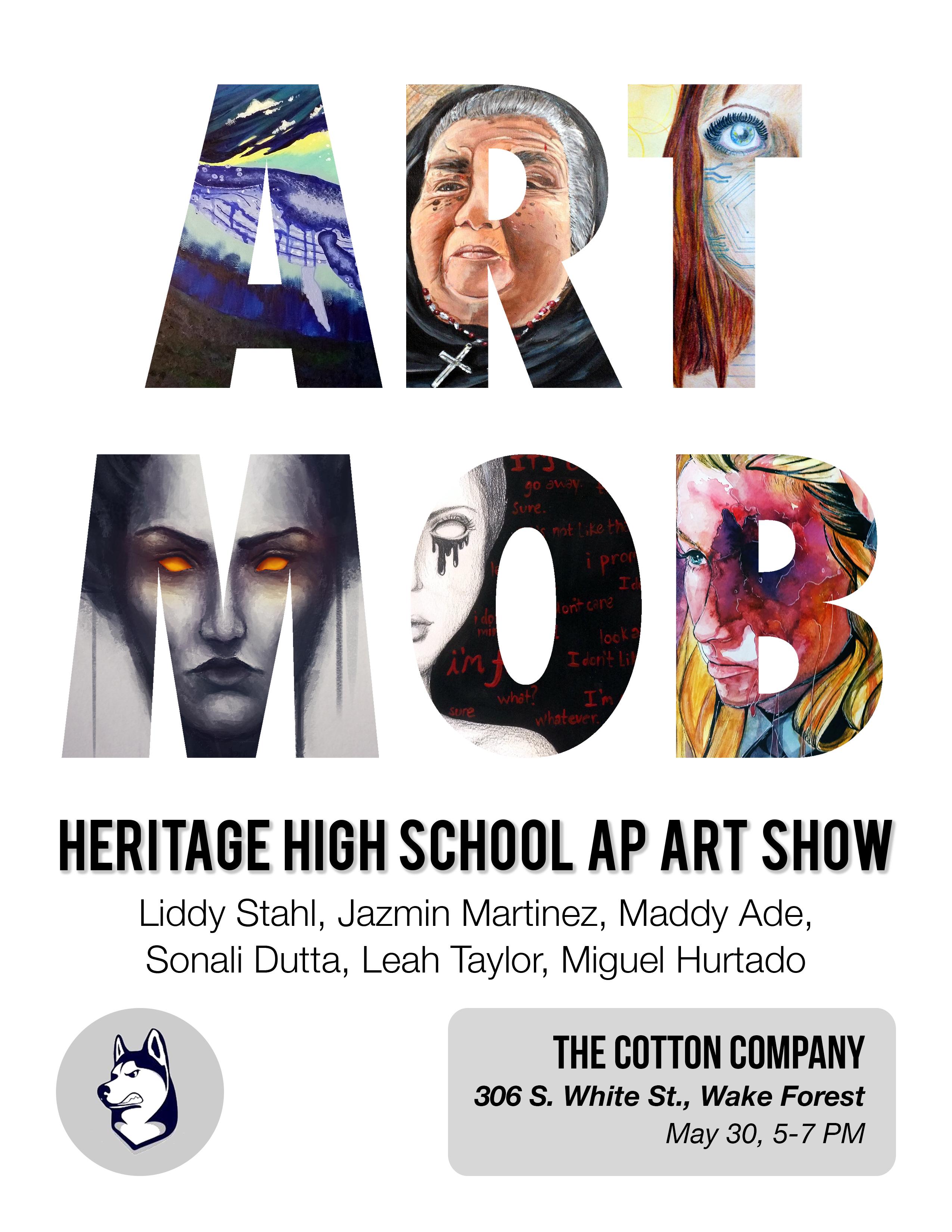 Art Mob Flyer