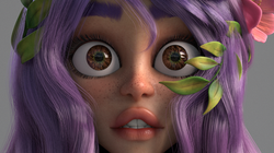 Green Crystal Closeup