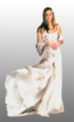Wedding Gown White and Flowers.jpg