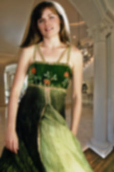 beautiful green evening gown.jpg