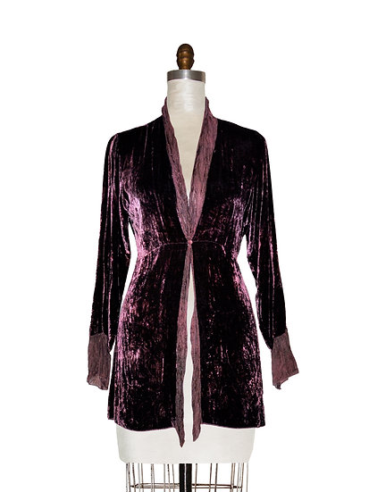Fluid Silk Jacket