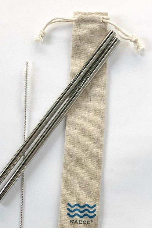 Stainless Steel Straw Duo