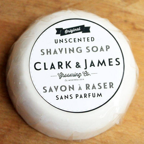 Shaving Soap Puck Refill - Unscented