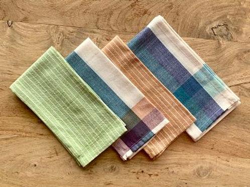 Hand Woven Cotton Napkin - set of four