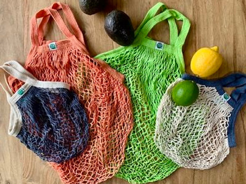 Colored String Market Bags