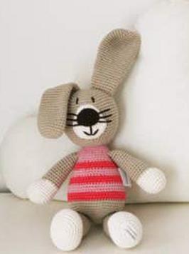 Organic Cotton Crocheted Stuffys