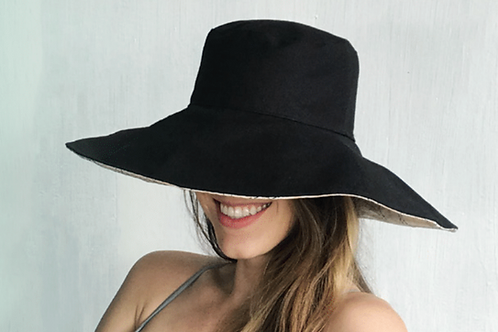 Eclipse Organic Cotton Sun Hat