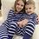 Thumbnail: Organic Pima Cotton Stripe PJs