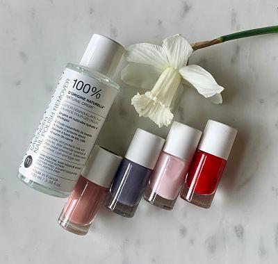 All-Natural Lavender Nail Polish Remover