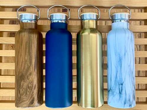 Insulated Wide Mouth Bottle - Stainless Steel