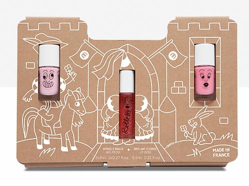 Princess Story Nail Polish & Lip Gloss Set