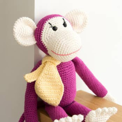 Organic Cotton Crocheted Stuffys