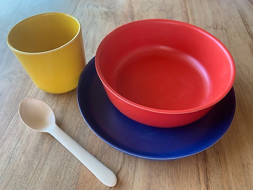 Kid's Dish Set - Various Color Sets