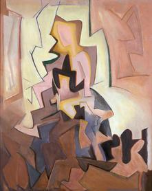 Figure by Window 1915