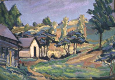 Log House at Farm 1905