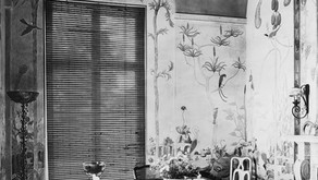 Rare Photos of Gardner Hale's Mural Paintings in a Long Island Home