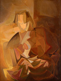 Woman in Brown 1912