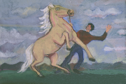 Horse and Man 1904
