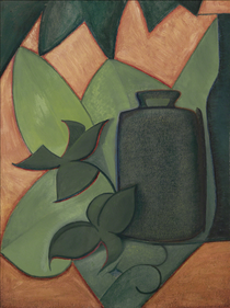 Pot and Green Leaves, 1915.png
