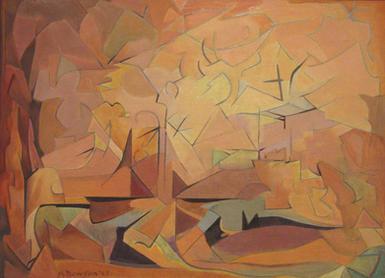 Dawson Afternoon II, 1913