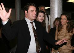John Travolta visits the Rise of Dorothy Hale