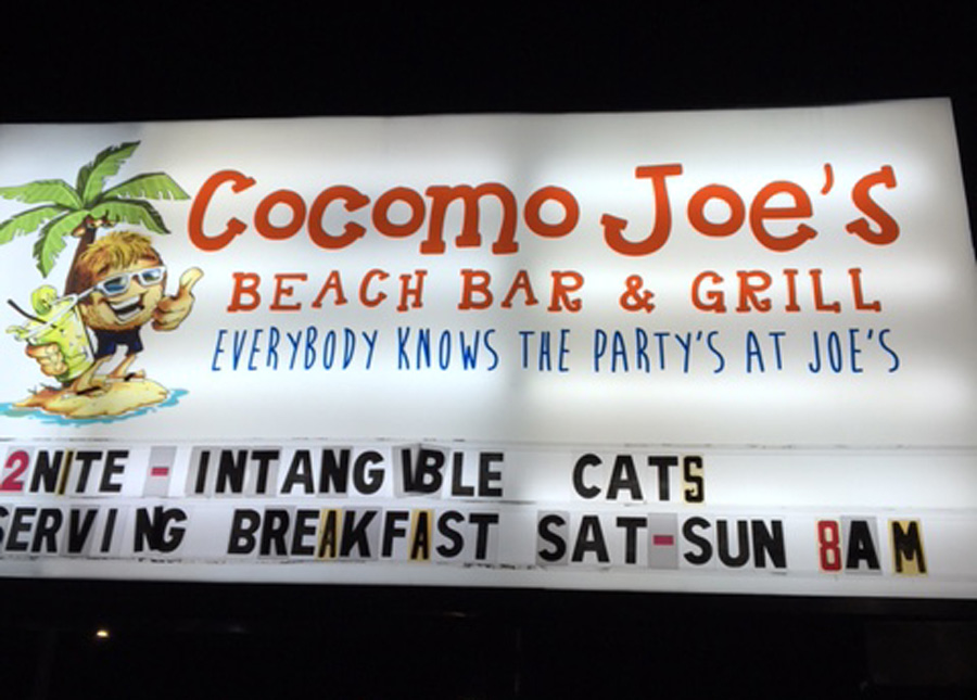 The Cats at Cocomo Joe's
