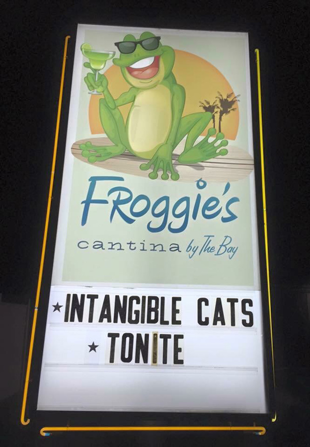 The Cats play Froggie's