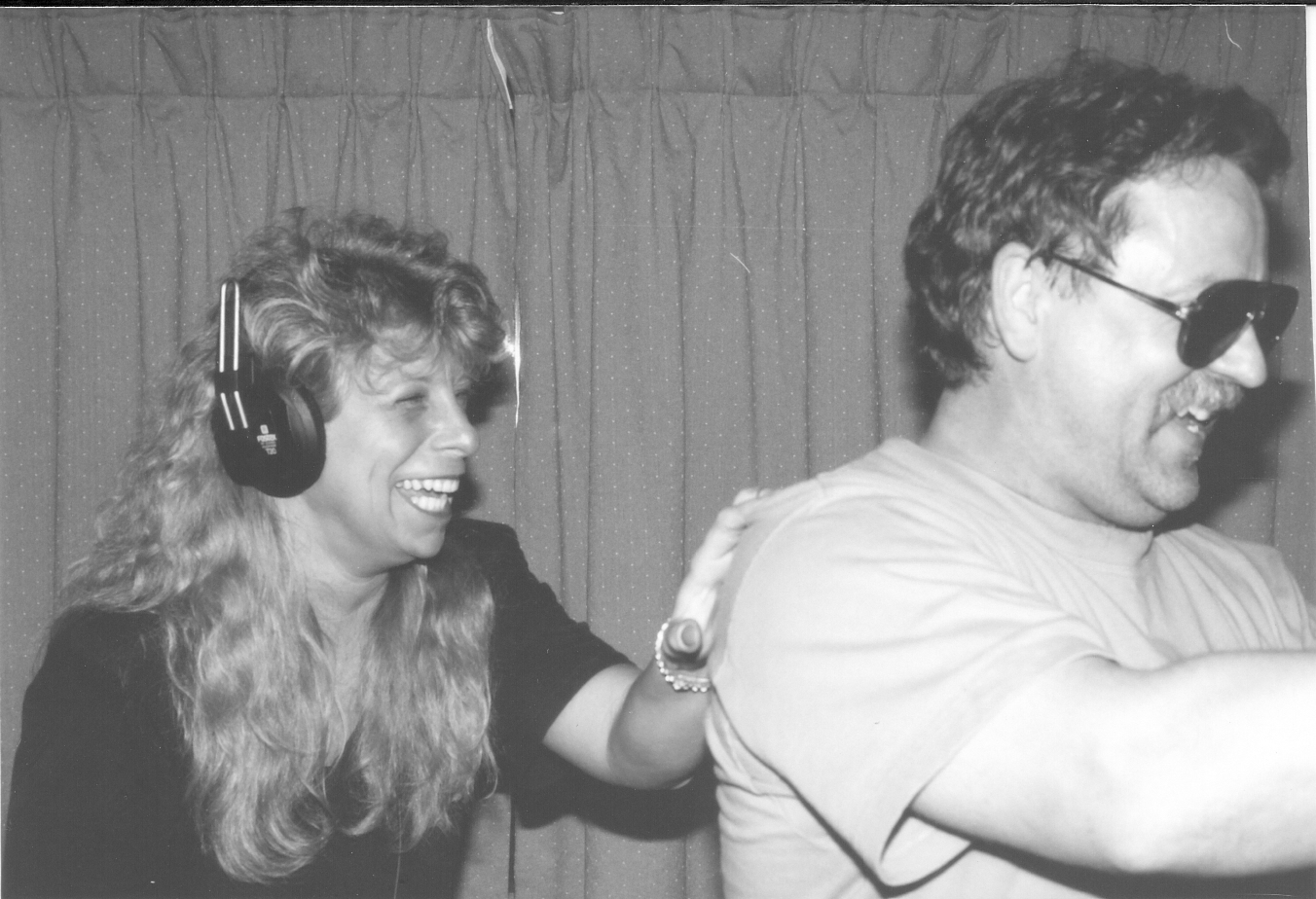Tania and Gerry at Earworks (1990)