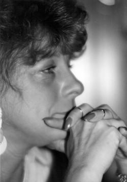 Tania at Earworks (1990)