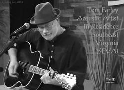 "Tom Playing Live on ""Coast Live"""