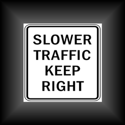 """""""Slow Drivers in the Left-Hand Lane"""""""