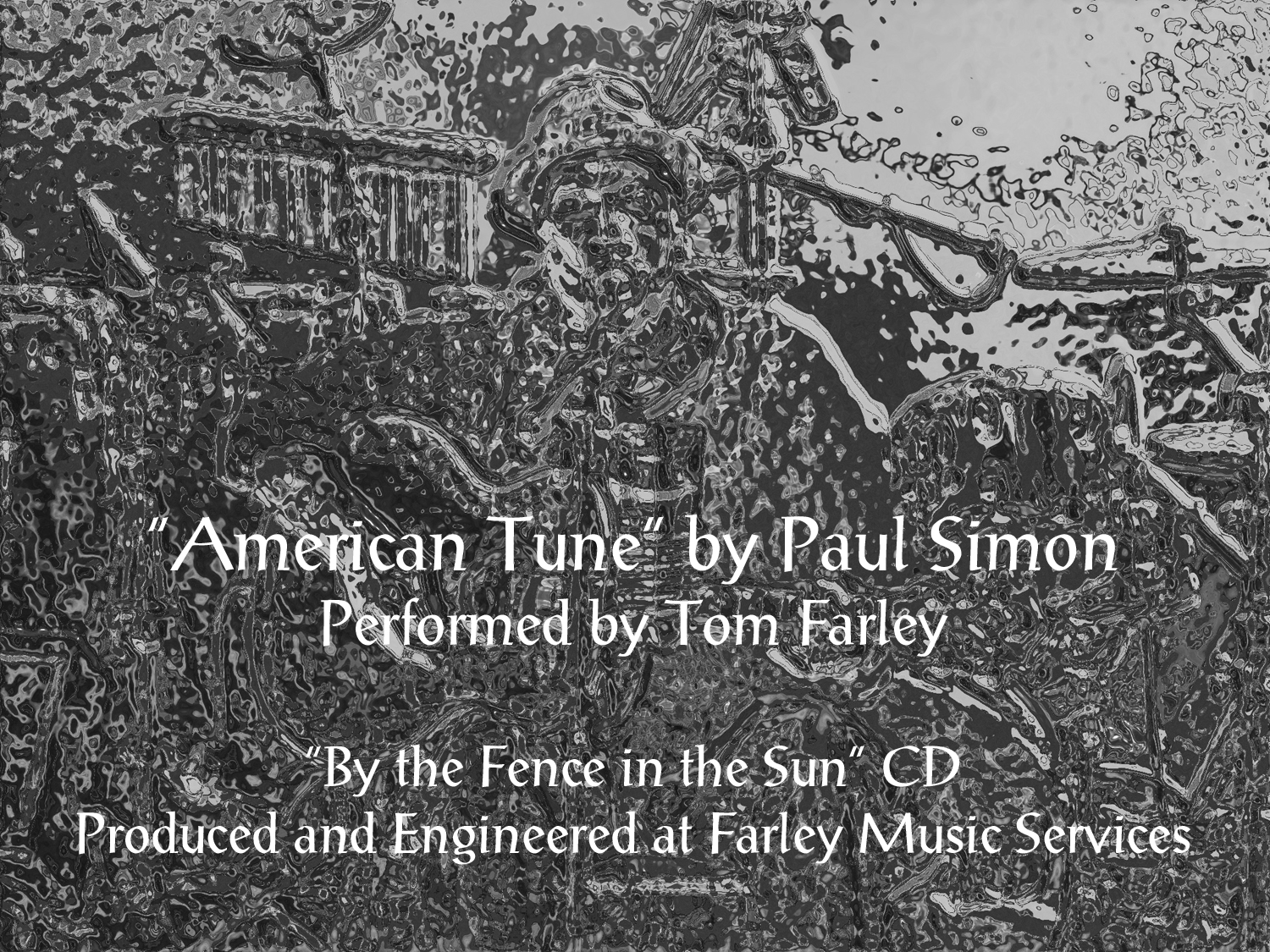 """American Tune"" You Tube Photo"