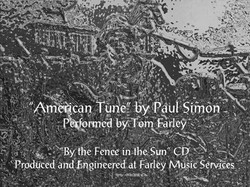 """American Tune"" You Tube Photo"