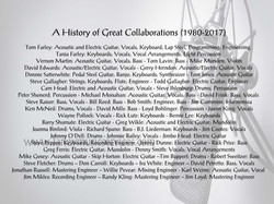 My History of Collaborations