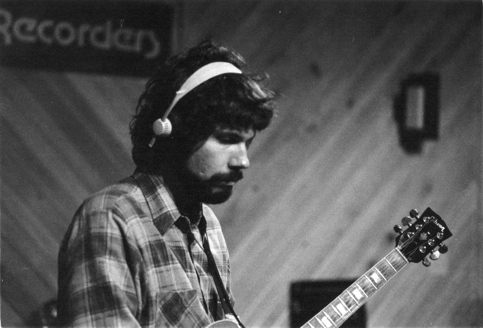 Tom at Live Oak Studio (1981)