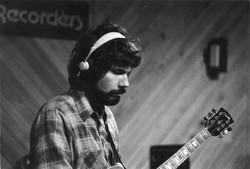 Tom at Live Oak Studio (1981)