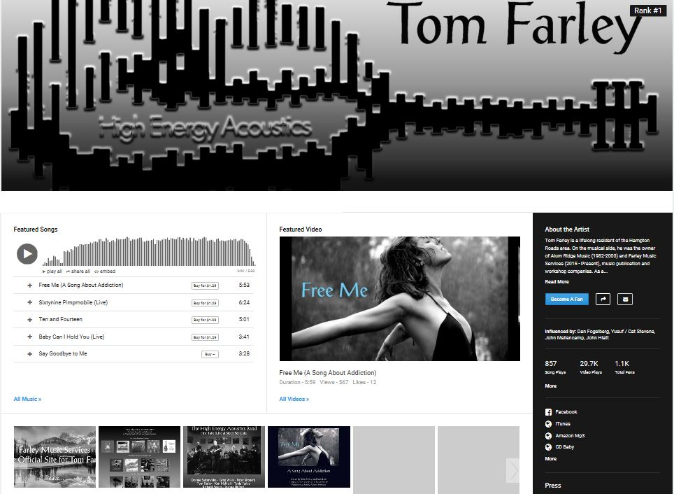 TF on Reverbnation