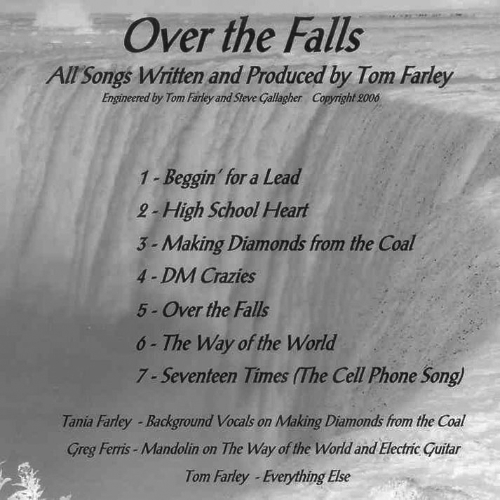 """Over the Falls Remastered"" Album"