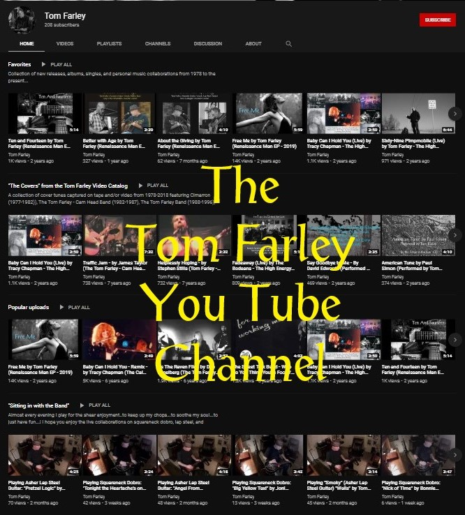 Tom Farley YouTube Channel