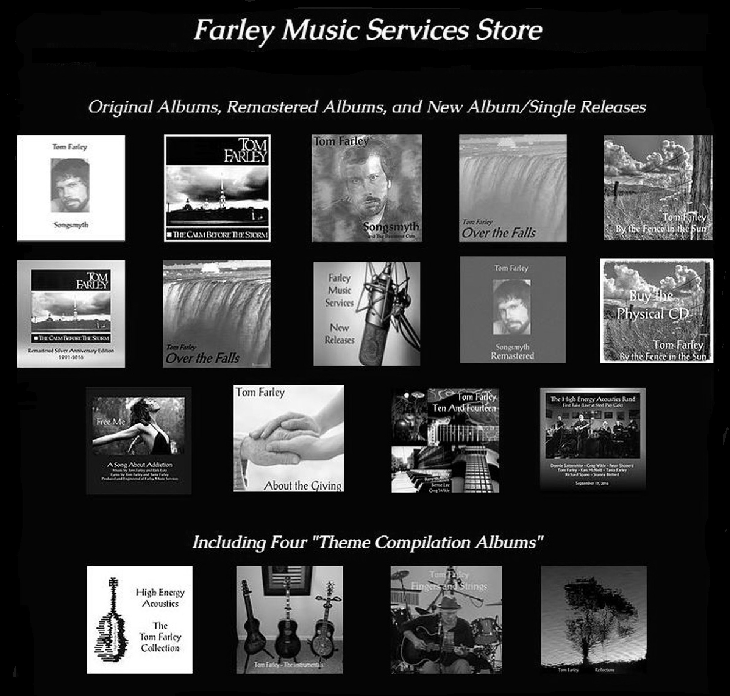 Tom Farley Music Catalog - 2017