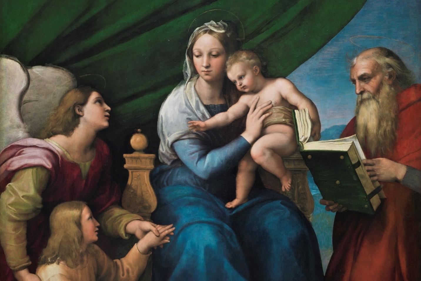 Raffaello_Sanzio_-_Sacra_Famiglia_con_Ra