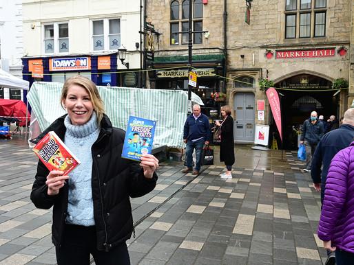 Kids + Authors + Illustrators = Loads of Fun in Durham