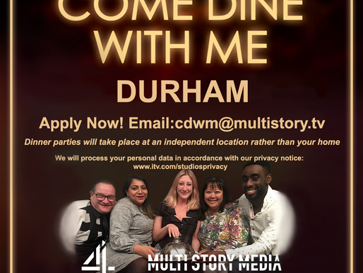 Come Dine With Me is Looking For Budding Chefs From Durham to Apply!
