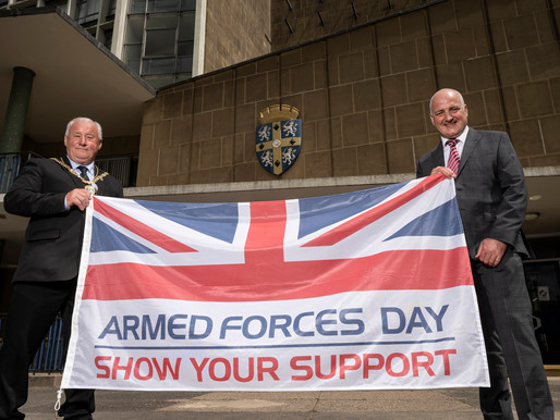 Council Shows Its Support For The Armed Forces