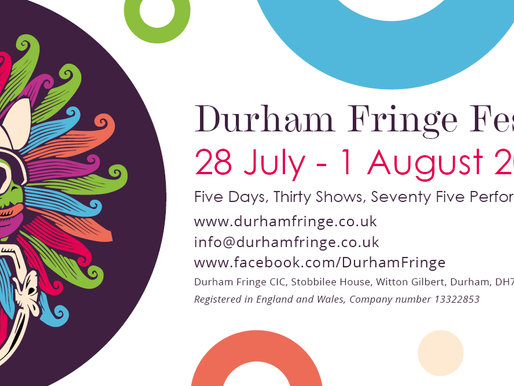 Durham's First Fringe Festival is Coming To Town!